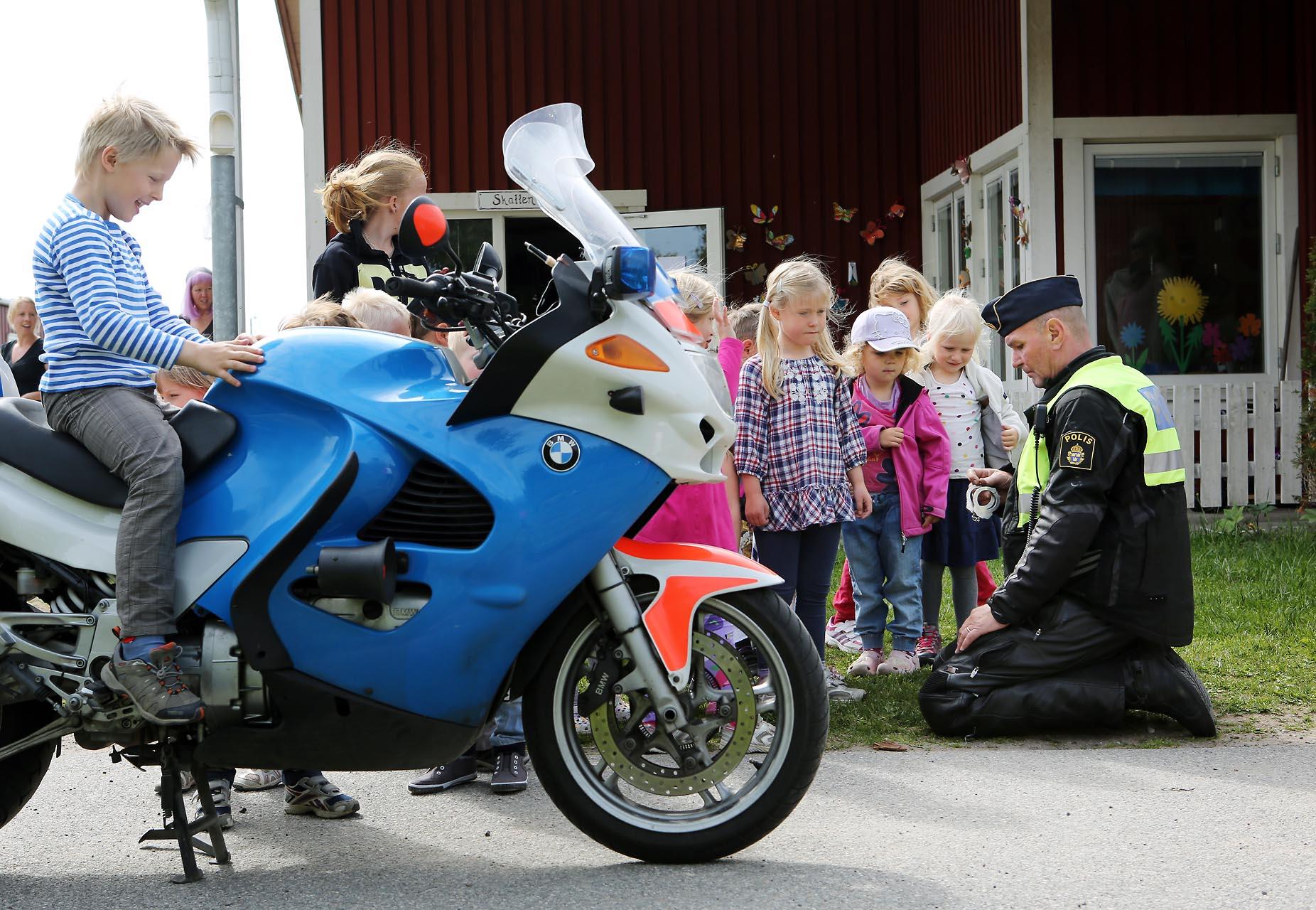 Christer Melvinsson - MC-polis på Hisingen i Göteborg.