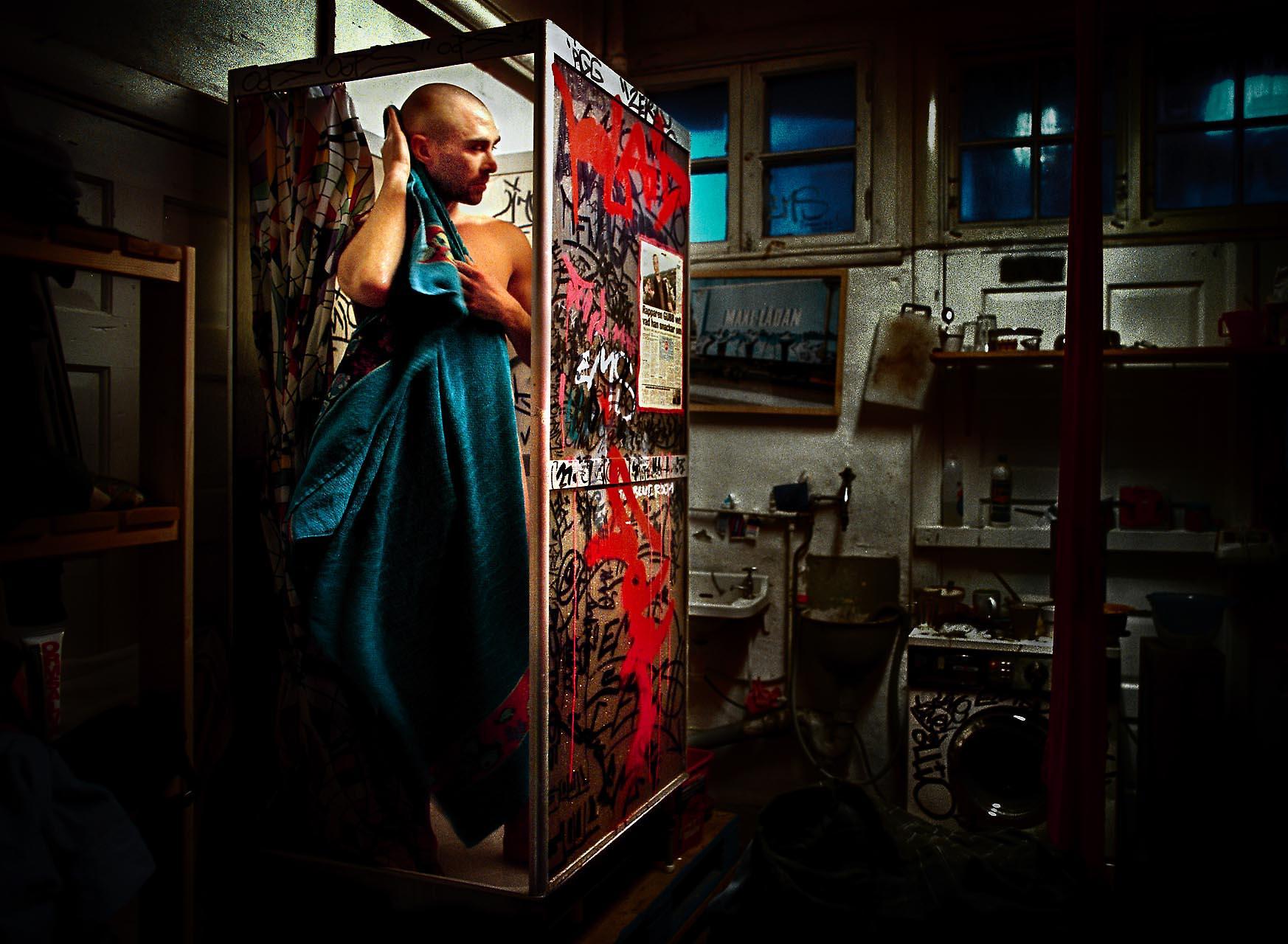 02.11.16./SIPO/ JOEL ALTER, GRAFFITIMÅLARE I GÖTEBORG.